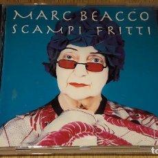 CDs de Música: MARC BEACCO / SCAMPI FRITTI / CD - VERVE RECORDS - 1994 / 9 TEMAS / LUJO.. Lote 123595915