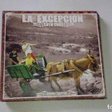 CDs de Música: LA EXCEPCION-CATA CHELI EDICION ESPECIAL,COLECCIONISTAS. Lote 124036207