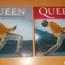 CDs de Música: QUEEN. LIVE AT WEMBLEY STADIUM. 2 VOL. LIBRO CD. Lote 124095280