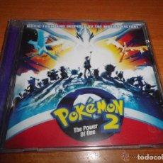 CDs de Música: POKEMON 2 THE POWER OF ONE BANDA SONORA CD ALBUM PRECINTADO 2000 EUROPA CONTIENE 20 TEMAS. Lote 124118231