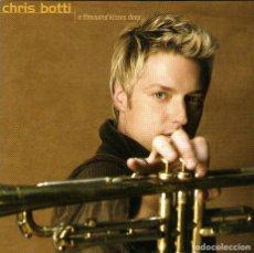 CDs de Música: CHRIS BOTTI - A THOUSAND KISSES DEEP - CD ALBUM - 11 TRACKS - COLUMBIA 2003. Lote 124119375
