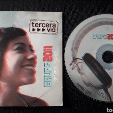 CDs de Música: TERCERA VIA GRUPS 2011 CD: STROMBERS, TXARANGO, OPRIMITS, ITACA BAND, ESKASSA LIBERTAT. Lote 124147974