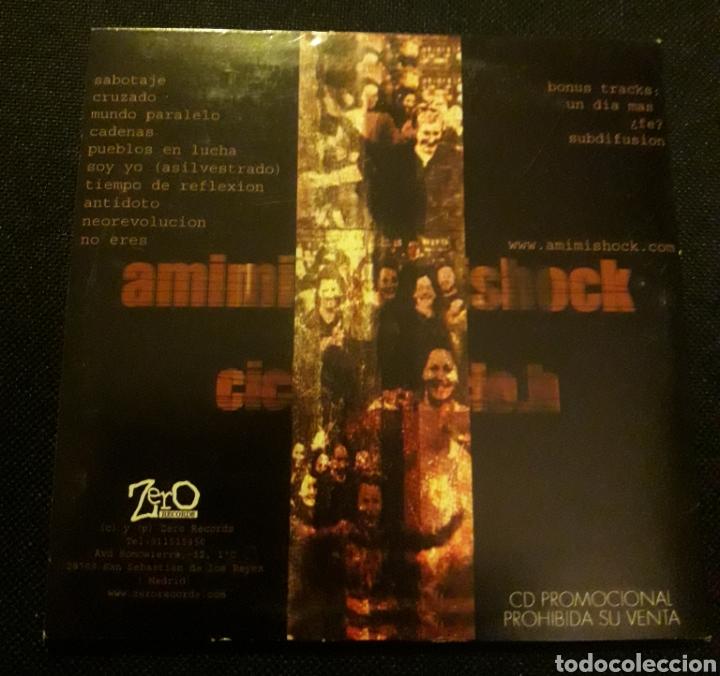 CDs de Música: Amimishock - CD promocional Ciclo H - Foto 2 - 124154540