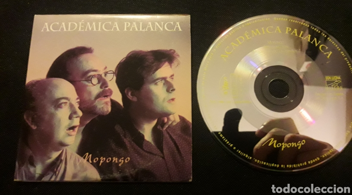 ACADÉMICA PALANCA - MOPONGO CD SINGLE PROMO (Música - CD's World Music)