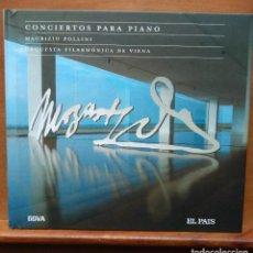 CDs de Música: LIBRETO Y CD - MOZART - CONCIERTOS PARA PIANO - MAURIZIO POLLINI - BBVA Y EL PAÍS. Lote 124183499