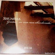 CDs de Música: SHUARMA CD+DVD GRIETAS... EN UNA CASA ABANDONADA DIGIPACK NUEVO ED. LTD.. Lote 124185859