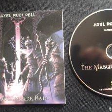 CDs de Música: AXEL RUDI PELL - THE MASQUERADE BALL CD ÁLBUM PROMOCIONAL. Lote 124218555