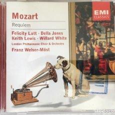 CDs de Música: CD MOZART-REQUIEM. Lote 124221731