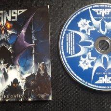 CDs de Música: CANS - BEYOND THE GATES CD ÁLBUM PROMOCIONAL (2004 HAMMERFALL). Lote 128258848