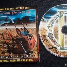 CDs de Música: IAN PARRY'S CONSORTIUM PROJECT II - CONTINUUM IN EXTREMIS CD ÁLBUM PROMO (HARD PROGRESSIVE METAL). Lote 124224756