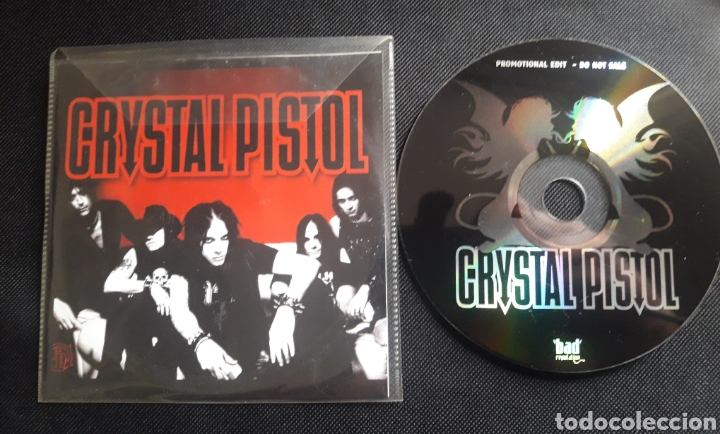 CRYSTAL PISTOL CD ÁLBUM PROMOCIONAL 2005 HARD ROCK (Música - CD's Heavy Metal)