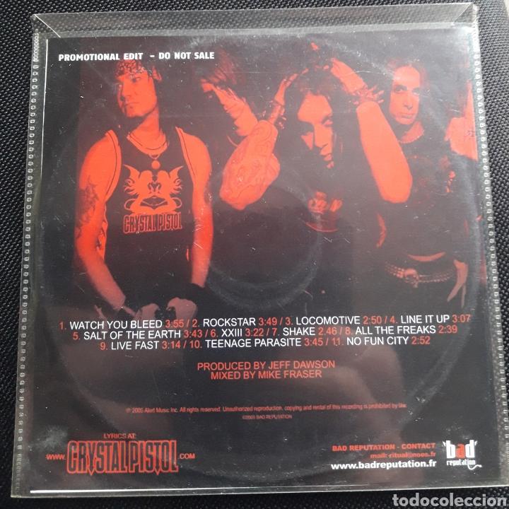 CDs de Música: Crystal Pistol CD álbum promocional 2005 Hard Rock - Foto 2 - 124224878