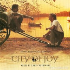 CDs de Música: CITY OF JOY / ENNIO MORRICONE CD BSO. Lote 130213106