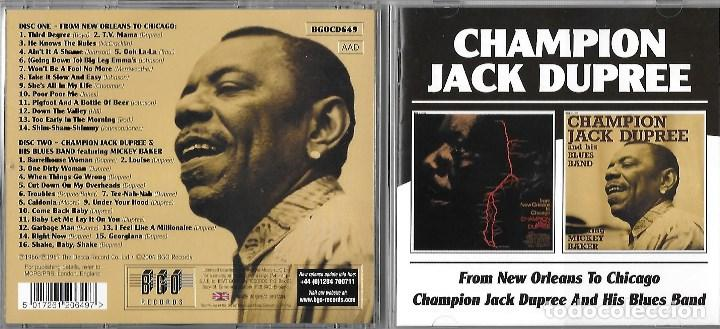 From Champion New Orleans Cd's Dupree Of Chica Jazz To Buy Jack ffxa1wE4