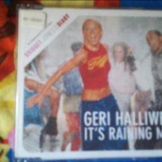 CDs de Música: GERI HALLIWELL IT'S RAINING MEN SPICE GIRLS CDSINGLE BSO PROMO. Lote 129719951