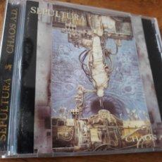 CDs de Música: SEPULTURA CHAOS A.D. Lote 124284056