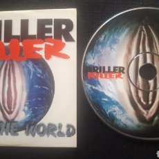 CDs de Música: DRILLER KILLER - FUCK THE WORLD CD ÁLBUM PROMOCIONAL (HARDCORE PUNK 1997). Lote 124288298