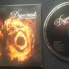 CDs de Música: DYECREST - THE WAY OF PAIN CD ÁLBUM PROMOCIONAL (DEATH METAL HEAVY METAL 2004). Lote 124288524