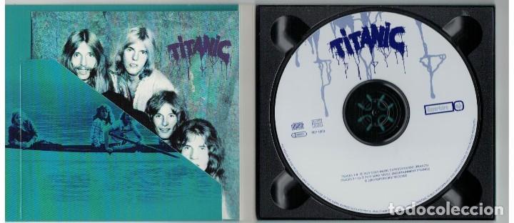 CDs de Música: TITANIC-CD TITANIC-DIGIPAK - Foto 2 - 124294195