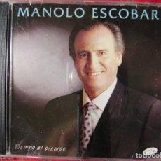 CDs de Música: MANOLO ESCOBAR.TIEMPO AL TIEMPO...DIFICIL. Lote 124301295