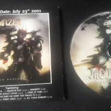 CDs de Música: JAG PANZER - MECHANIZED WARFARE CD ÁLBUM PROMOCIONAL (HEAVY METAL 2001 ). Lote 124323148