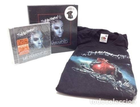 CDs de Música: TOKIO HOTEL * BOX HUMANOID * CD+CAMISETA + CAJA edición muy limitada * Precintada!! - Foto 2 - 47460331