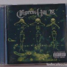 CDs de Música: CYPRESS HILL - IV (CD) 1998 - 18 TEMAS. Lote 124439739