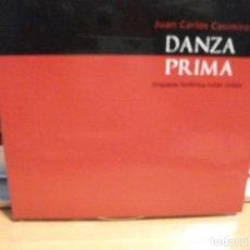 CDs de Música: CD JUAN CARLOS CASIMIRO DANZA PRIMA ORQUESTA SINFÓNICA JULIÁN ORBÓN ASTURIAS PEPETO. Lote 124453311