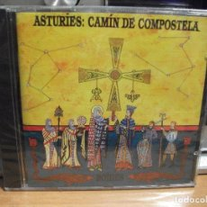 CDs de Música: ASTURIES CAMIN DE COMPOSTELA / BOIDES / FONOASTUR CD ALBUM PRECINTADO ASTURIAS. Lote 179954380