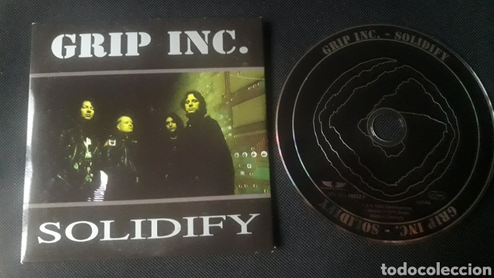 GRIP INC. - SOLIDIFY CD ÁLBUM PROMOCIONAL (HEAVY METAL THRASH 1999) SLAYER (Música - CD's Heavy Metal)