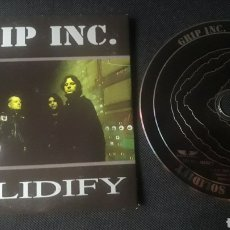 CDs de Música: GRIP INC. - SOLIDIFY CD ÁLBUM PROMOCIONAL (HEAVY METAL THRASH 1999). Lote 124458943