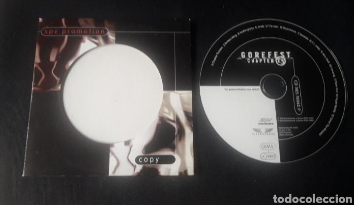 GOREFEST - CHAPTER 13 - CD ÁLBUM PROMOCIONAL (DEATH METAL 1998 ) (Música - CD's Heavy Metal)
