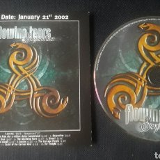 CDs de Música: FLOWING TEARS - SERPENTINE CD ÁLBUM PROMOCIONAL (GOTH ROCK ALTERNATIVE 2002). Lote 124462162