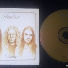 CDs de Música: FIREBIRD - DELUXE CD ÁLBUM PROMOCIONAL (HARD ROCK BLUES ROCK 2001 ). Lote 124462476