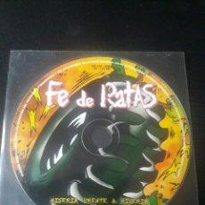 CDs de Música: FE DE RATAS - MISERIA FRENTE A MISERIA CD PUNK ROCK URBANO 2003. Lote 124462948