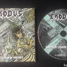 CDs de Música: EXODUS - ANOTHER LESSON IN VIOLENCE CD ÁLBUM PROMOCIONAL (THRASH HEAVY METAL) 1997. Lote 171780863