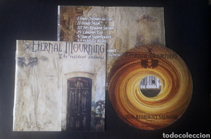 ETERNAL MOURNING - THE RESIDENT SADNESS CD (GOTHIC ROCK DOOM METAL) 2003 (Música - CD's Heavy Metal)