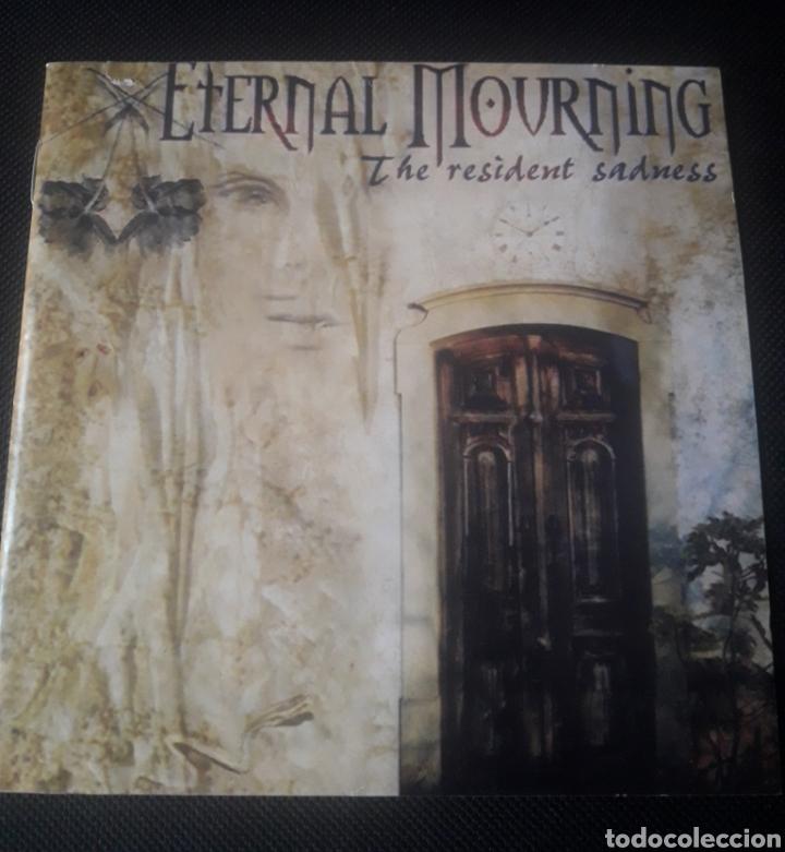 CDs de Música: Eternal Mourning - The resident sadness CD (gothic rock doom metal) 2003 - Foto 2 - 124464379
