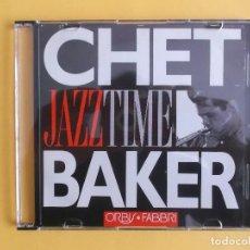 CDs de Música: CHET BAKER - JAZZ TIME CD MUSICA. Lote 124468403