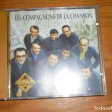 CDs de Música: LES COMPAGNONS DE LA CHANSON. COLUMBIA, 1994. CD. GOLD. IMPECABLES. Lote 124497607