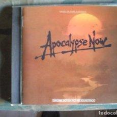 CDs de Música: APOCALYPSE NOW - CARMINE COPPOLA & FRANCIS COPPOLA CD DOORS,SUZIE Q.... Lote 124504631