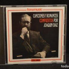 CDs de Música: JOAQUIN DIAZ - CANCIONES Y ROMANCES COMPUESTOS POR JOAQUIN DIAZ - CD. Lote 124526347
