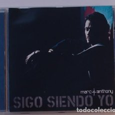 CDs de Música: MARC ANTHONY - SIGO SIENDO YO (CD) 2006 - 14 TEMAS. Lote 124546779