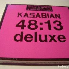 CDs de Música: RAR CD & DVD. KASABIAN. 48:13. DELUXE. DIGIPACK. MINT. SEALED.. Lote 124578495