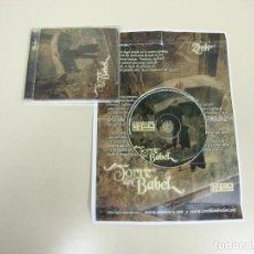 CDs de Música: 1018- TORRE DE BABEL SELLO ZONA BRUTA CD GENERO HIP HOP ESPAÑOL SPAIN 2006. Lote 124613263