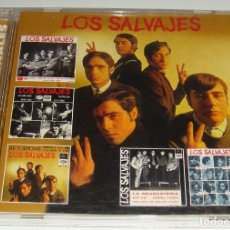 CDs de Música: CD - LOS SALVAJES - LOS EP'S ORIGINALES - LOS SALVAJES - LOS EP ' S ORIGINALES. Lote 124656019