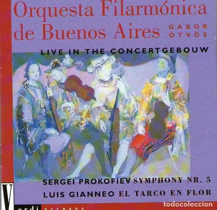 ORQUESTA FILARMÓNICA DE BUENOS AIRES - LIVE IN THE CONCERTGEBOW - DIRIGE: GABOR ÖTVÖS - CD 1994 (Música - CD's Clásica, Ópera, Zarzuela y Marchas)