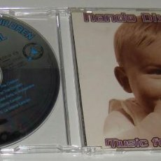 CDs de Música: CD MAXI - NANDO DIXKONTROL - MUSIC FOR THE CHILDREN - 5 TRACKS. Lote 124903739