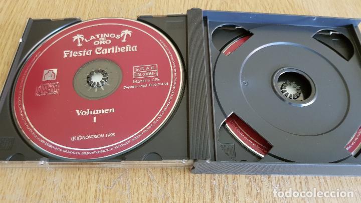 CDs de Música: LATINOS DE ORO / FIESTA CARIBEÑA / 30 ÉXITOS DE ORO / BOX-SET 2 CDS / CALIDAD LUJO. - Foto 2 - 124904347
