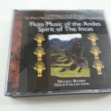 CDs de Música: SPIRIT OF THE INCAS. FLUTE MUSIC OF THE ANDES (2 CD)-N. Lote 124920639